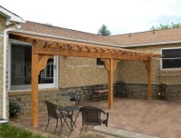 Pergola Plans Attached House PDF Woodworking