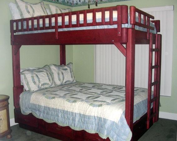 bunk bed plans queen