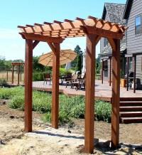 Woodwork Small Pergola Plans PDF Plans