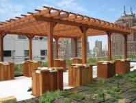 Guide for landscape: Garden pergolas