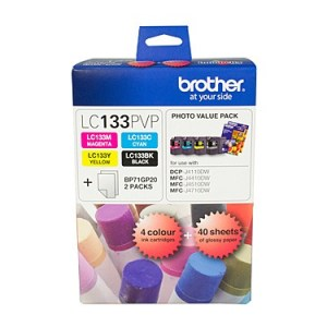 Genuine Brother LC-133 Photo Value Pack