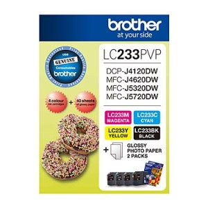Brother LC233 Photo Value Pack