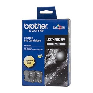 Brother LC67 Black HY Twin Pk