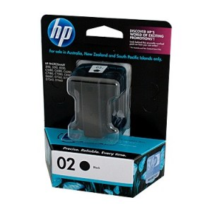 HP #02 Black Ink Cart C8721WA