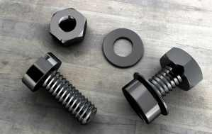 3d Nuts and bolts