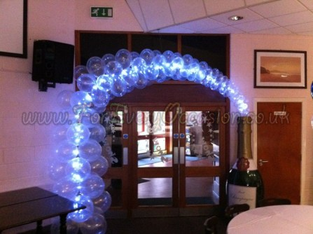 Champagne arch