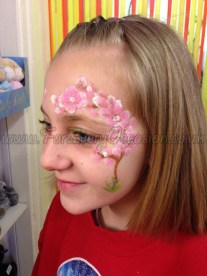 Blossoms Face Paint