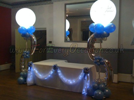 Lights in Balloons
