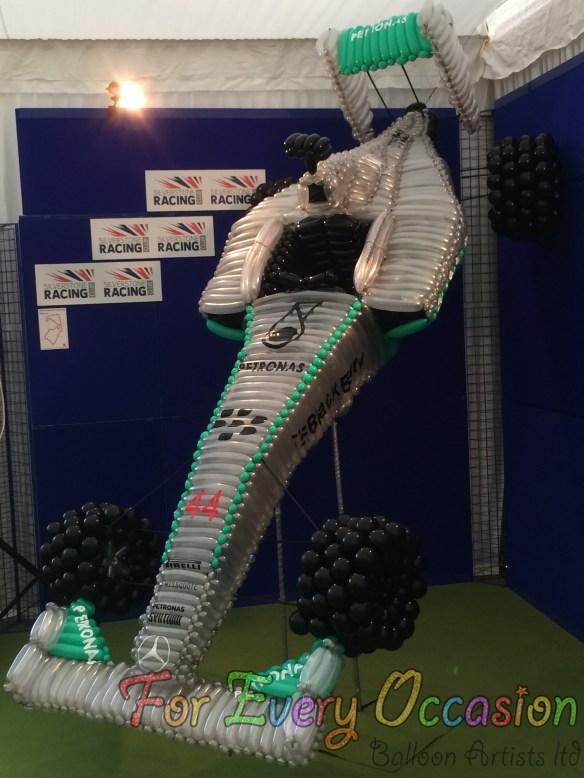 Silverstone Grand Prix - Lewis Hamilton's Car