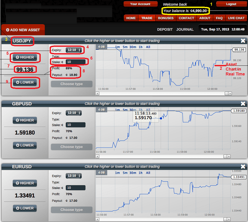 Binary options chat room