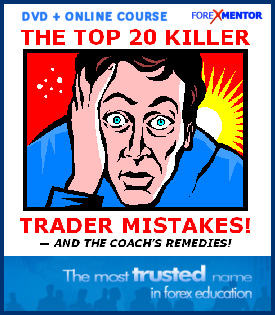 The Top 20 Killer Trader Mistakes And The Coach's Remedies (DVD + Online)