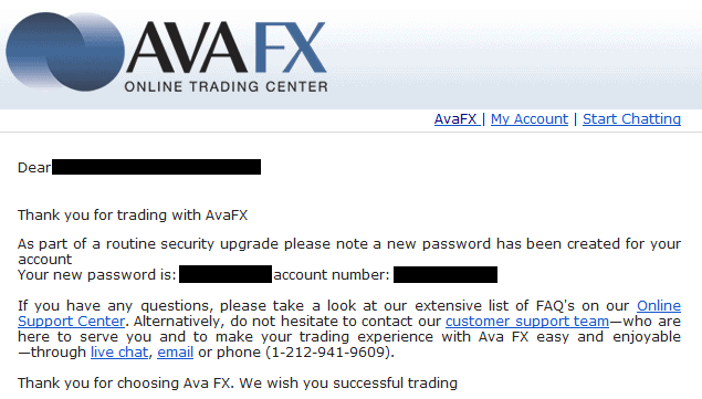AvaFX has been hacked?