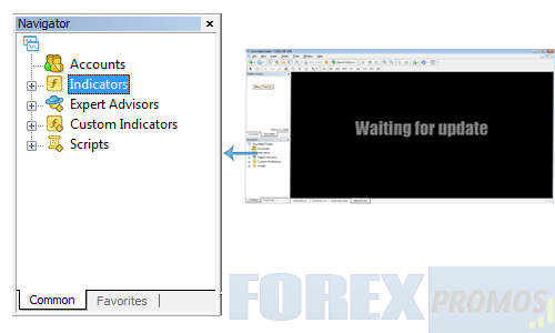 Locating expert advisors window