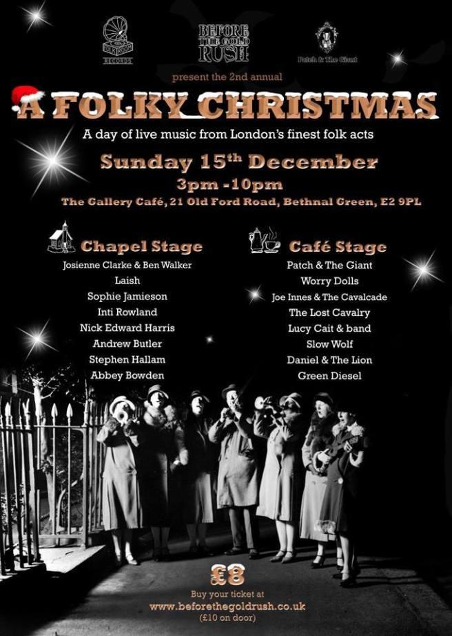 A Folky Christmas 2013 The Gallery Cafe London