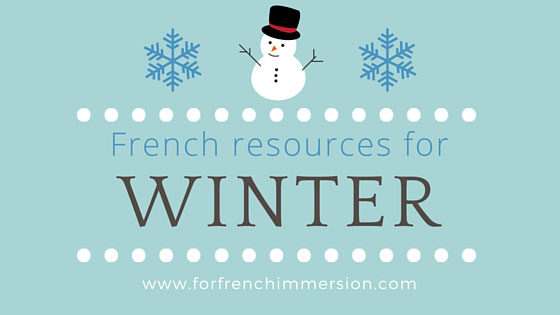 French Winter Resources: fall-themed resources for your French classroom!