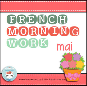 French morning work: MAY | MAI