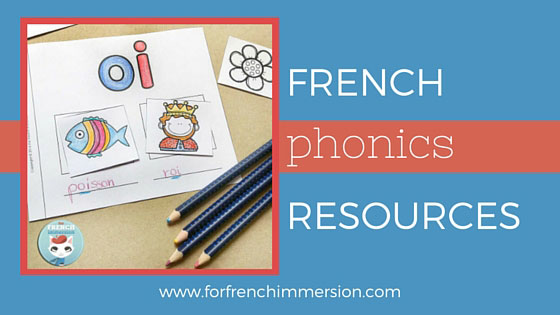 French Phonics Resources: for your French classroom. Fun and engaging printable activities to teach sounds in French.