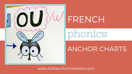 French Phonics Anchor Chart Ideas: list of ideas for anchor charts to teach French sounds.