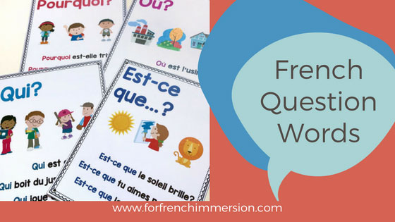 Learning how to make questions is key to learning French (and any other language). This post includes FREE French question words posters (printable PDF).