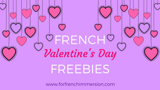 French Valentine's Day Free Resources: links to tons of amazing freebies for your French classroom! #lasaintvalentin #frenchimmersion #corefrench #teachingfrench #frenchteachers #forfrenchimmersion