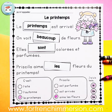 for french immersion engaging resources created for french immersion teachers homeschoolers. Black Bedroom Furniture Sets. Home Design Ideas