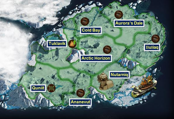 Forge of Empires World Map 9