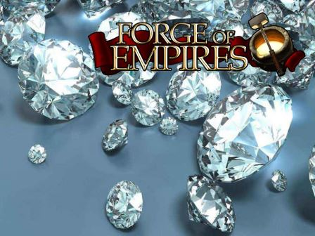 how to get diamonds on forge of empires