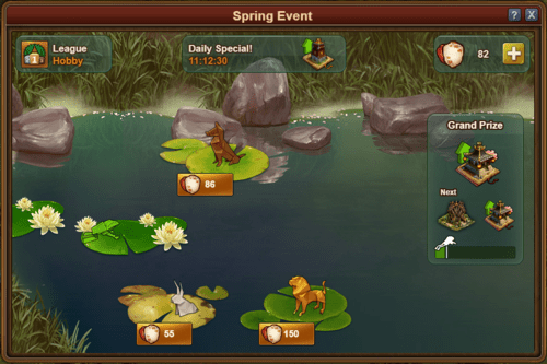 Forge of Empires Spring Event 2019 Mini-Game