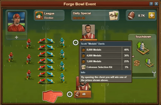 FOE Bowl Event Minigame