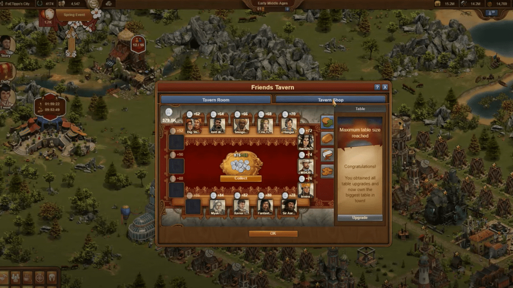 Forge of Empires Guild Expedition Level 4 Friends Tavern