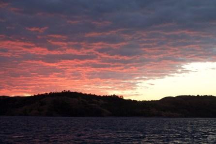 Nosy Mitsio Anchorage Sunset