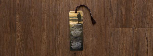 Footsteps Poem Jesus Bookmark