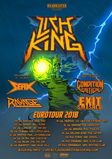 Ravage EU Tour 2018