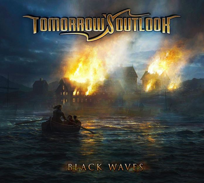 Tomorrows Outlook - Black Waves