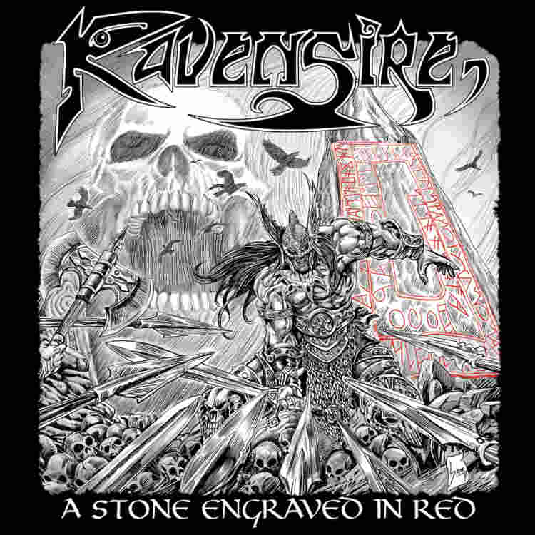 RAVENSIRE – A Stone Engraved In Red