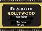 forgotten Hollywood Radio Show