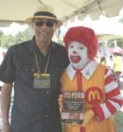 Manny Pacheco and Ronald McDonald