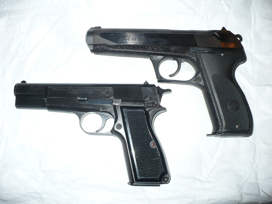 Steyr GB and Browning High Power