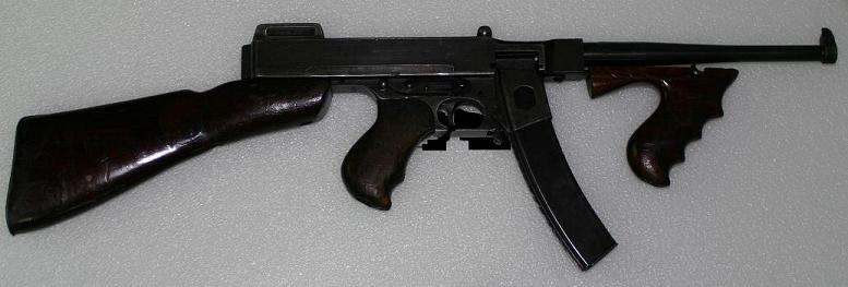 Chinese Thompson SMG in 7.62x25mm