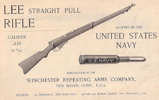 Winchester Lee Navy handbook cover