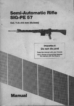 SIG PE57 manual
