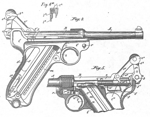 Luger automatic pistol