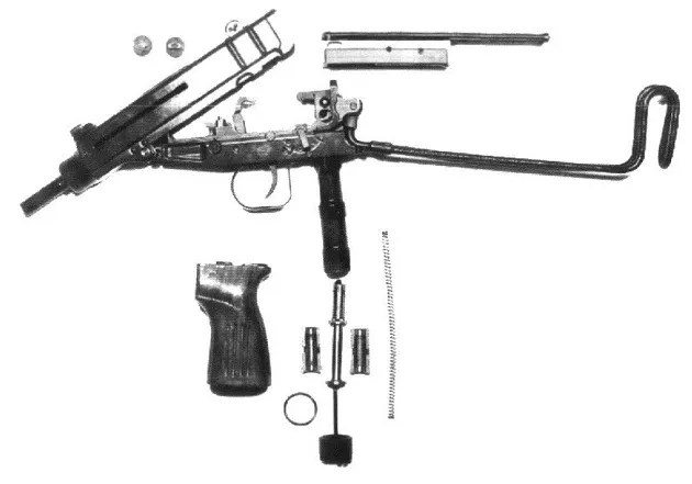 Skorpion exploded view