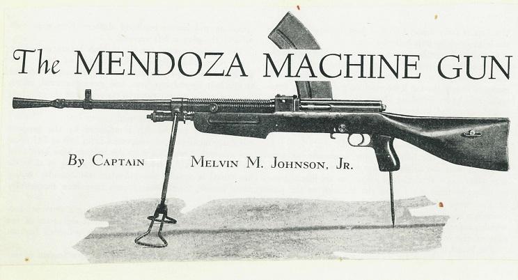 Mendoza B1933 LMG