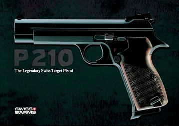 Sales brochure for the new Sig P210-8 (2003)