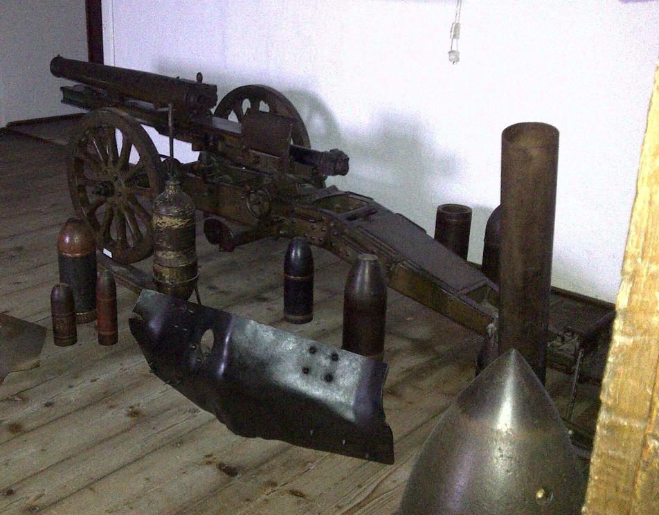Unknown Austrian or Italian cannon