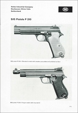 P210 User's manual by Sig