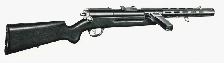 Bergmann MP32 (short 200mm barrel)
