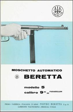 Beretta Model A5 brochure (Italian)