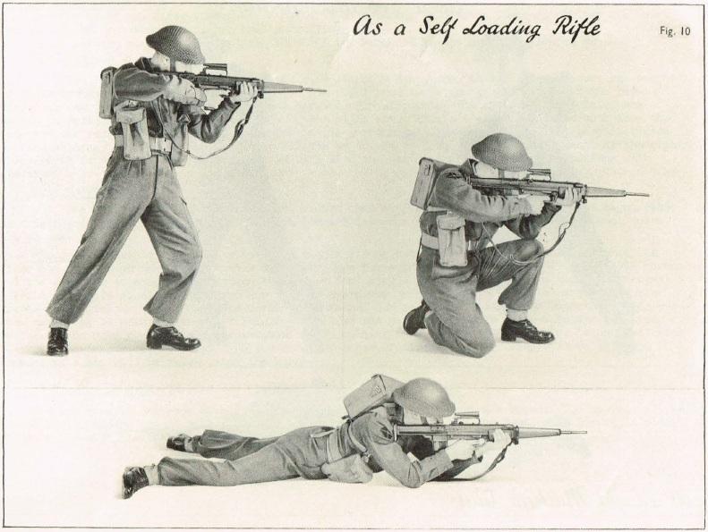 EM1 rifle firing positions